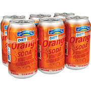 Hill Country Fare Diet Orange Soda 12 oz Cans