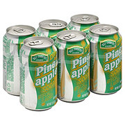 Hill Country Fare Diet Pineapple Soda 12 oz Cans