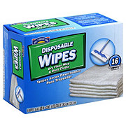 Hill Country Fare Disposable Wipes Dry Floor Mop & Dust Cloths