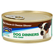 Hill Country Fare Dog Dinners Beef Bacon & Cheese Wet Dog Food