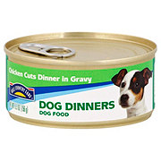 Hill Country Fare Dog Dinners Chicken Cuts in Gravy Wet Dog Food