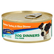 Hill Country Fare Dog Dinners Senior Turkey And Rice Dinner Dog Food