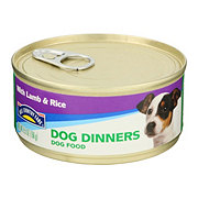 Hill Country Fare Dog Dinners with Lamb & Rice Dog Food