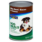 Hill Country Fare Dog Meals Complete and Balanced with Beef Bacon and Cheese