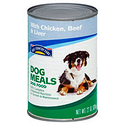 Hill Country Fare Dog Meals Complete and Balanced with Chicken Beef & Liver Wet Dog Food