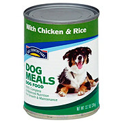 Hill Country Fare Dog Meals Complete and Balanced with Chicken & Rice Wet Dog Food