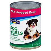 Hill Country Fare Dog Meals Complete And Balanced With Chopped Beef Dog Food