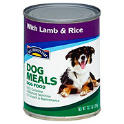 Hill Country Fare Dog Meals Complete and Balanced with Lamb & Rice Wet Dog Food