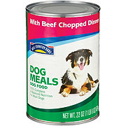Hill Country Fare Dog Meals Dog Food With Chopped Beef