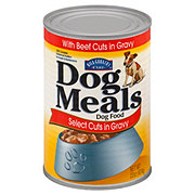 Hill Country Fare Dog Meals Select Cuts with Beef in Gravy Dog Food
