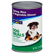 Hill Country Fare Dog Meals Turkey Rice & Vegetable Dinner Wet Dog Food