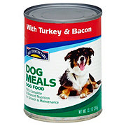 Hill Country Fare Dog Meals with Turkey & Bacon Wet Dog Food