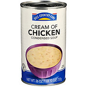 Hill Country Fare Family Size Condensed Cream of Chicken  Soup