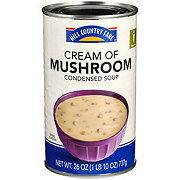 Hill Country Fare Family Size Condensed  Cream of Mushroom Soup