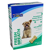 Hill Country Fare Fresh Breath Small Dog Biscuits