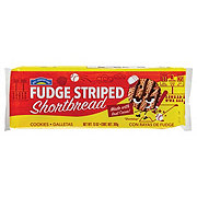 Hill Country Fare Fudge Striped Shortbread Cookies