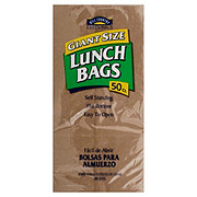 Hill Country Fare Giant Size Paper Lunch Bags