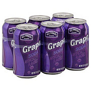 Hill Country Fare Grape Soda 12 oz Cans