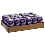 Hill Country Fare Grape Soda 24 PK Cans Case