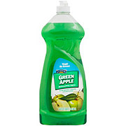 Hill Country Fare Green Apple Dishwashing Liquid