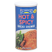 Hill Country Fare Hot & Spicy Bread Crumbs