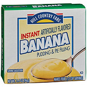 Hill Country Fare Instant Banana Pudding Mix