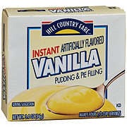 Hill Country Fare Instant Vanilla Pudding Mix