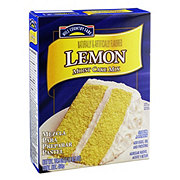 Hill Country Fare Lemon Moist Cake Mix
