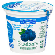 Hill Country Fare Light Nonfat Blueberry Yogurt