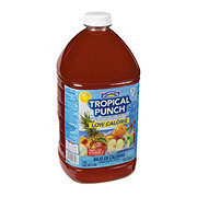 Hill Country Fare Light Tropical Punch Fruity Red Fruit Drink
