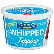 Hill Country Fare Light Whipped Topping