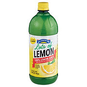 Hill Country Fare Lots of Lemon 100% Lemon Juice