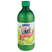 Hill Country Fare Lots of Lime 100 % Lime Juice