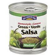 Hill Country Fare Medium Homestyle Green Verde Salsa