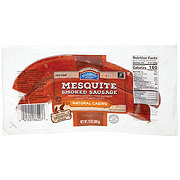 Hill Country Fare Mesquite Smoked Sausage with Natural Casing