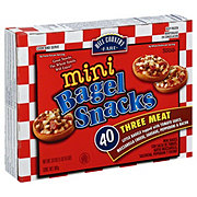 Hill Country Fare Mini Bagel Snacks Three Meat