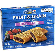Hill Country Fare Mixed Berry Fruit & Grain Cereal Bars