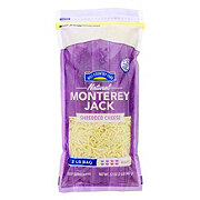 Hill Country Fare Monterey Jack Cheese, Shredded