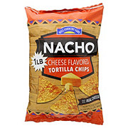 Hill Country Fare Nacho Flavored Tortilla Chips
