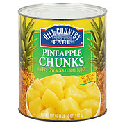 Hill Country Fare No Sugar Added Pineapple Chunks