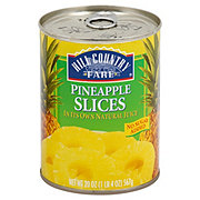 Hill Country Fare No Sugar Added Pineapple Slices