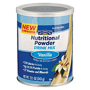 Hill Country Fare Nutritional Powder Drink Mix, Vanilla