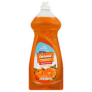 Hill Country Fare Orange Antibacterial Dishwashing Liquid Soap