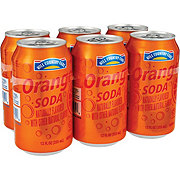 Hill Country Fare Orange Soda 12 oz Cans
