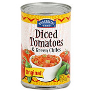 Hill Country Fare Original Diced Tomatoes and Green Chiles