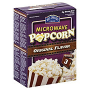 Hill Country Fare Original Flavor Microwave Popcorn