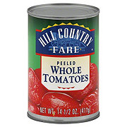 Hill Country Fare Peeled Whole Tomatoes