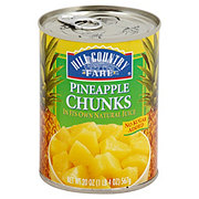 Hill Country Fare Pineapple Chunks No Sugar Added