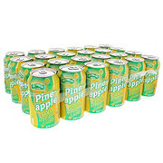 Hill Country Fare Pineapple Soda, 24 PK Cans