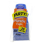 Hill Country Fare Plastic Party Cups, Assorted Colors, 16 oz